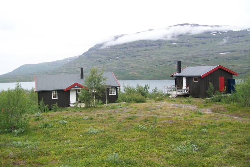5. august 2012,Altevasshytta i indre Troms.
