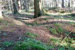 Kullgroper ved post 22 - Foto: Ukjent