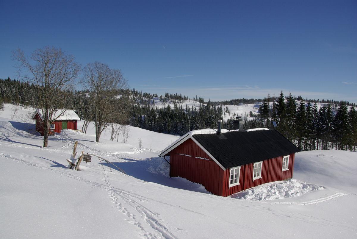 Vinter på SOlum