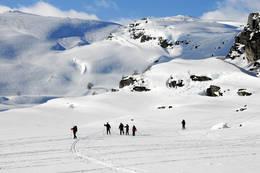Skitur til Sandvatn -  Foto: Ukjent