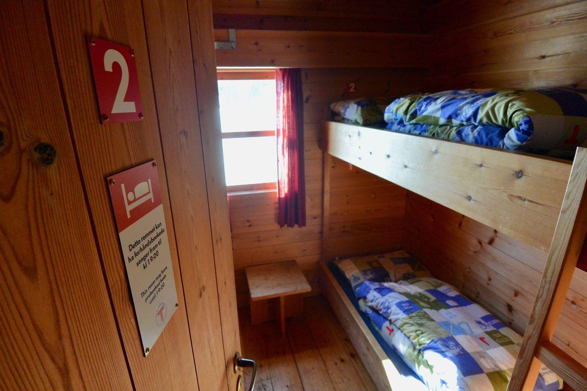 På dette rommet kan du booke seng på forhånd
