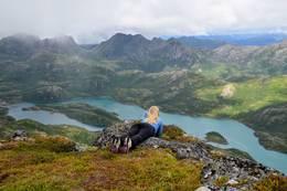 Fra toppen av Breitind - Foto: Kristin Green Nicolaysen