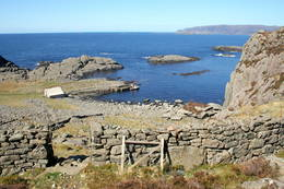 Nedstigninga til Kvanhovden frå sør - Foto: Kjartan Godø