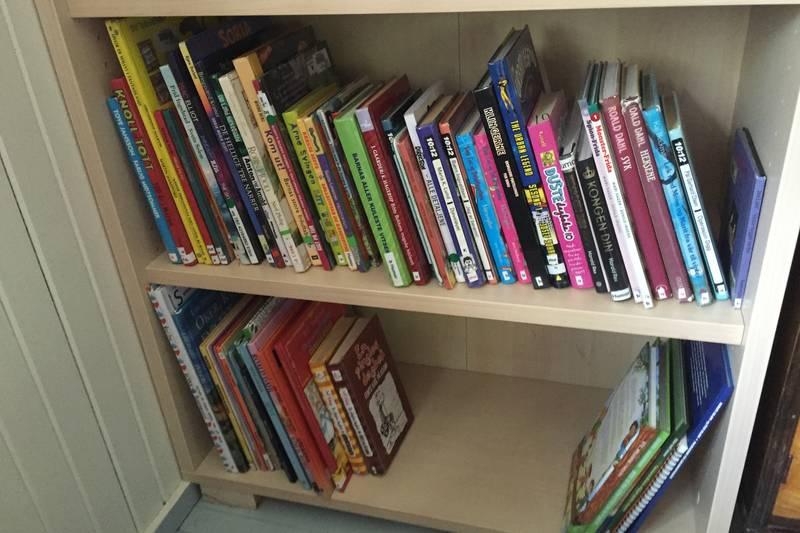 Barnebibliotek utlånt av Nannestad bibliotek