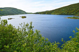 Vågøyvannet i Bodø -  Foto: Tursiden for Bodø og Salten