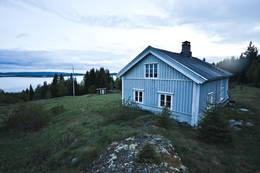Tidlig sommerkveld ved Flisberget -  Foto: Hallgrim Rogn