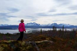 Fin utsikt fra turen -  Foto: Kjell Fredriksen
