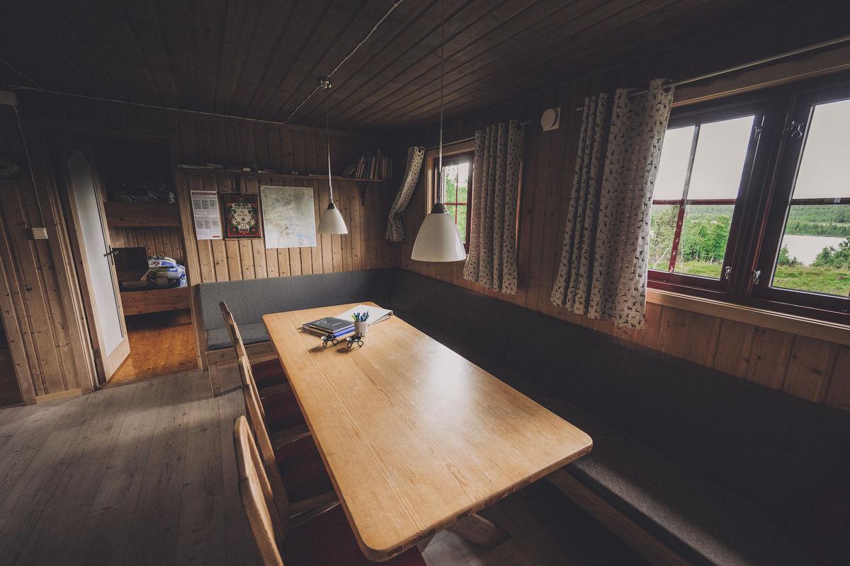 Stor og flott stue