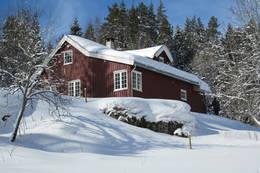 Vinter ved Bøvelstad - Foto: DNT Oslo og Omegn