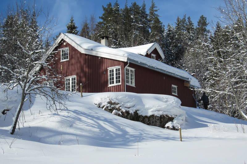 Vinter ved Bøvelstad