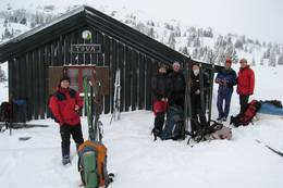 Fjellsportgruppetur til Toveseter turisthytte på Norefjell - Foto: Jørgen Samuelsen/DOT