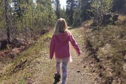 Vandring med barn - Foto: Marte Mikkelsen