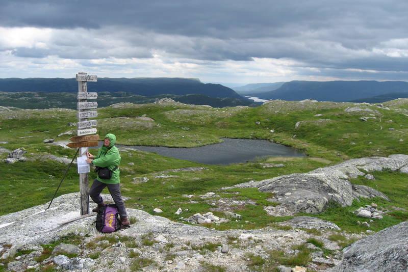 Toppen av Blåfjell
