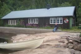 Båthuset ved Ivarsbu - Foto: Ola Rustad