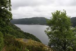 Utsikt mot Hidra - Foto: Ukjent