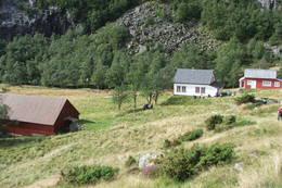 Helgaland ligg mellom Kleivaland og Trodla-Tysdal - Foto: Anne Kari Skogerbø