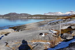 Utsikt mot Hatten og Tilhornet - Foto: Kjell Fredriksen