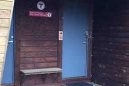 Inngangsdøren til Kvinen2 - Foto: