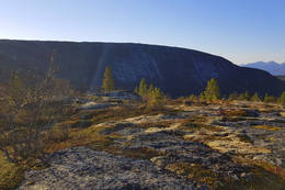Utsikt mot Finnviktuva - Foto: Kjell Fredriksen