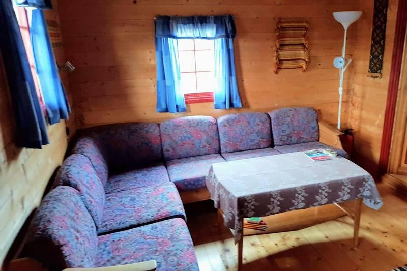 DNT hytte - sofakrok