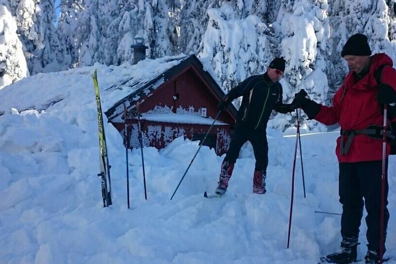 Snippkoia ferdig måkt for snø vinteren 2018