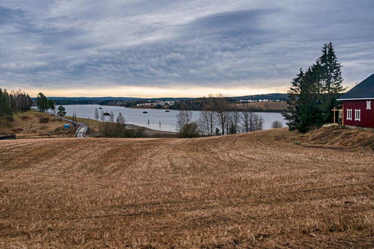 Utsikt til Glomma fra Nordre Hammeren