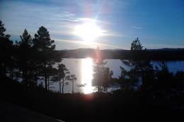 Blåskogvatnet. -  Foto: Johan Eide