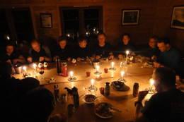 Fra gourmet-tur til Vending med Bergen Turlag, fjellsportgruppen. - Foto: Petter Kirkefjord