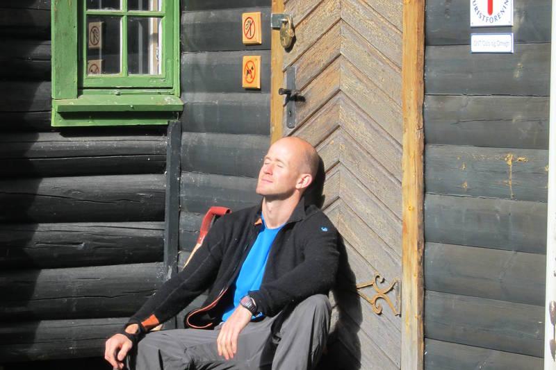 I sola på Jørgenhytta