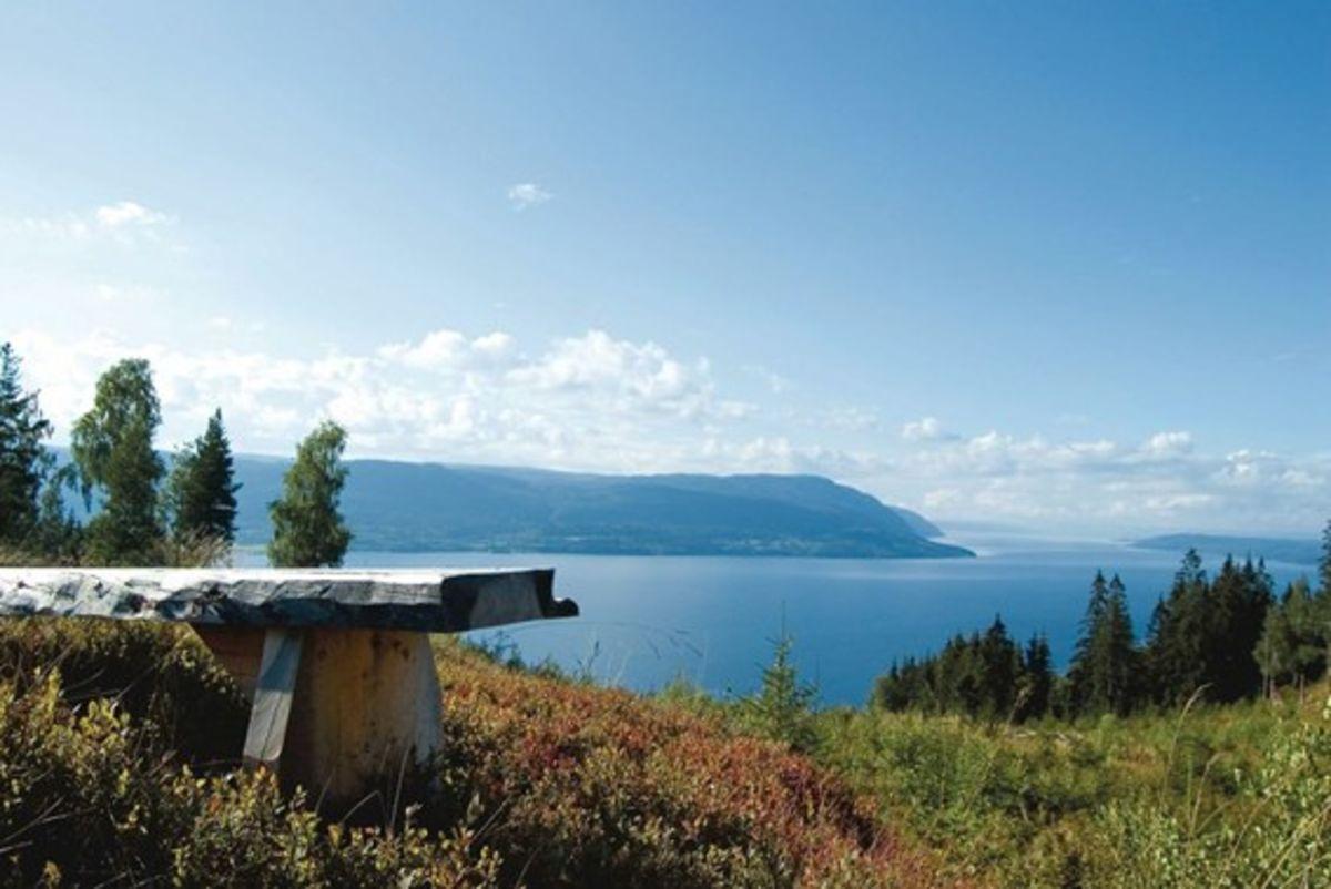 Utsikt fra Mjøsli