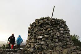 Storevarden på toppen av Liafjellet, 259 m.o.h. -  Foto: Øyvind Gjerde