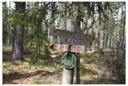 Fra Galtebu kan du gå en runde videre om Kjensmo. - Foto: Foto: Bente Ovlien.