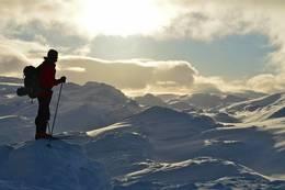 Fjellområdet rundt - Foto: Sveinung Klyve