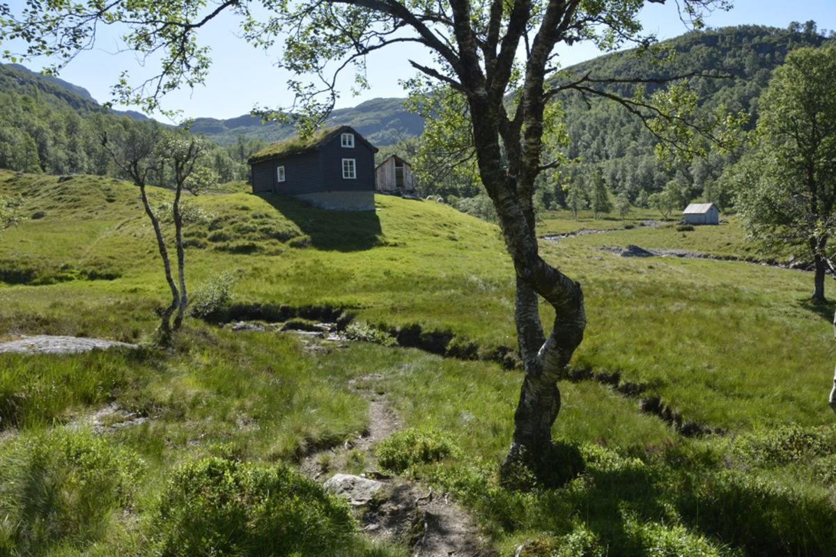 Gamle Jonstølen ligger like ved turisthytta