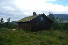 Saltfjellstua 18/8.2010.En fantastisk flott hytte i en fantastisk flott natur - Foto: wenche hilstad