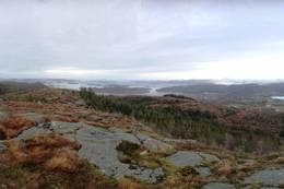 Panoramautsikt fra toppen - Foto: Kjell Inge Torgersen