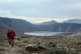 Fra ruta over Mellomfjell. - Foto: Irmelin Remmereit
