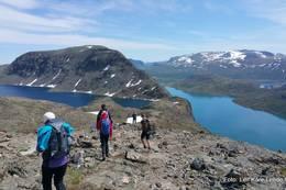 Besseggen, here we come -  Foto: Leif Kåre Lende