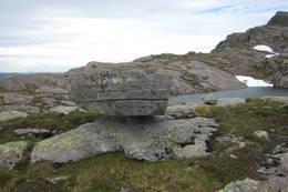 På vei til Lassenipa -  Foto: Jofrid Sundal