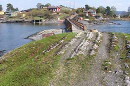Lindøya på vestsida. -  Foto: Oslofjordens Frilutsråd