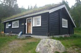 Torsdalsbu - ligger i Torsdalen (eller Finndalen) i Fyresdal.  - Foto: Ingrid Sødal Eidsnes