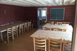 Spisestua på Kaldhusseter - Foto: Øyvind Hunnes