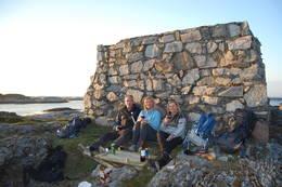 Picnik på Valøya - Foto: Jøran Tørring