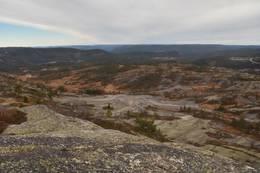 Utsikt mot Himmelrike -  Foto: Knut Åkredalen