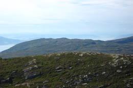 Flott utsikt mot Munken i sørvest. - Foto: Bjørn Ove Finseth