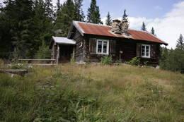 Tjørnstøyl, ei over 100 år gammel stølsbu -  Foto: Vidar Hansen