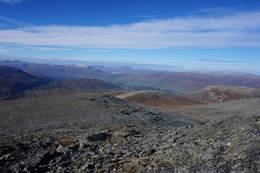Mange kjente topper å se fra toppen av Sissihøa. -  Foto: Oddveig Torve