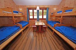 Sovehuset rommer inntil 48 personer fordelt på fem rom. - Foto: Eva Cecilie Simensen
