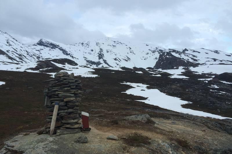 Turen til Storhaugen går via Dalberget