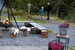 Bålpanne og grill  - Foto: